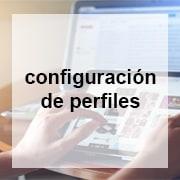 configuración perfiles