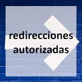 redirecciones autorizadas