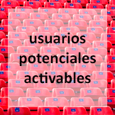 usuarios potenciales activables