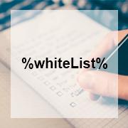 White Listing