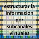 Tips - estructurar la información por subcanales virtuales