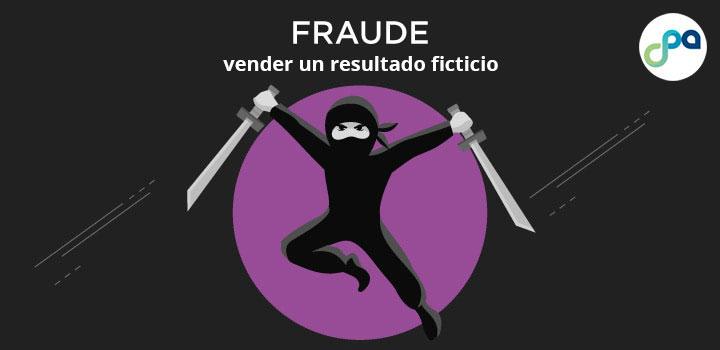 Fraude: vender un resultado ficticio