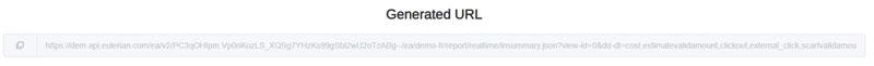 URL générée