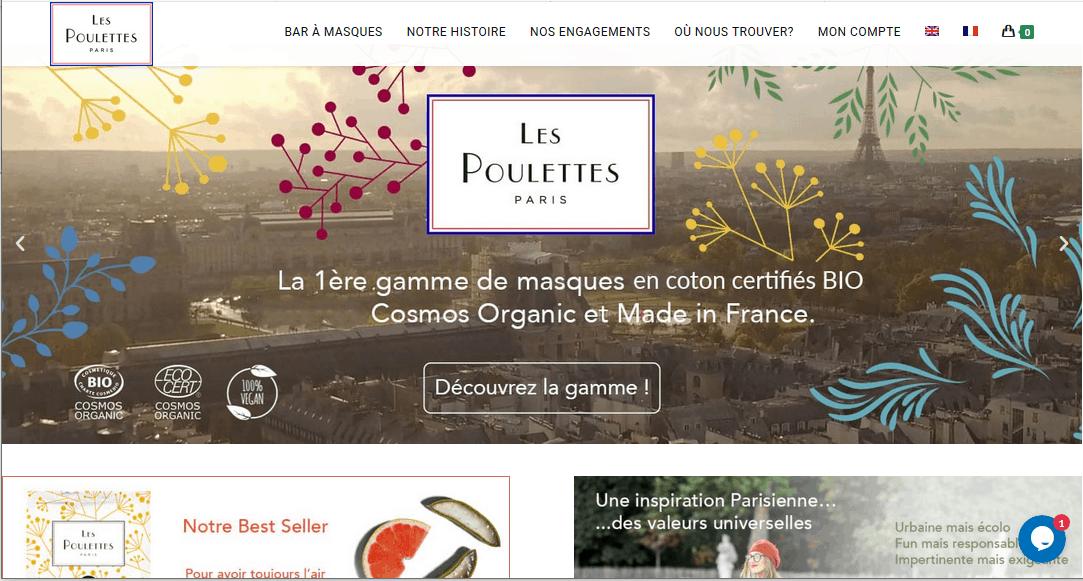 Les Poulettes Paris web